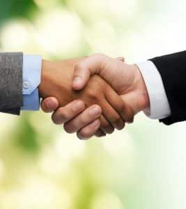 Wir sind partnerschaftlich verbunden.